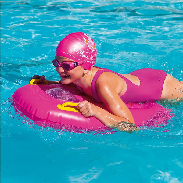 Zoggs Junior Inflatable Surf Rider Peppa Pig <30kg Z382199- Pink