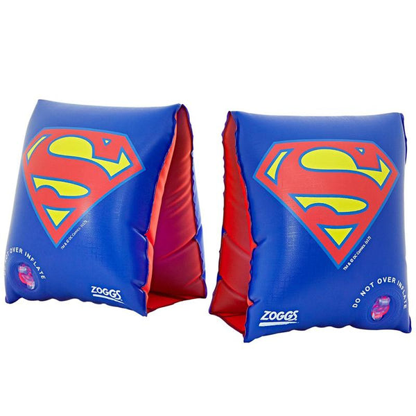 Zoggs Arm Band DC Super Heroes Superman <25kg Z382401- Blue/Yellow