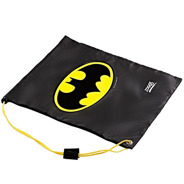 Zoggs Ruck Sack DC Super Heroes Batman Z382409- Black/Yellow