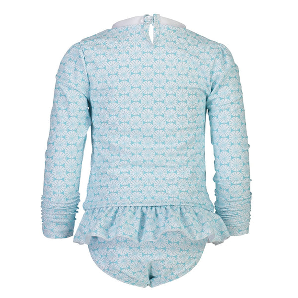 Snapper Rock Long Sleeves Sustainable Ruffle Set G52007L- Oceania Sustainable