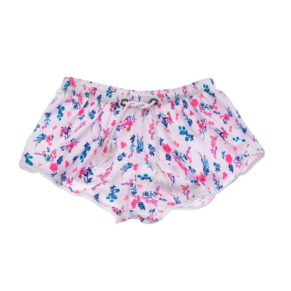 Snapper Rock Pretty PetaLS Swim Shorts G90023- Pink