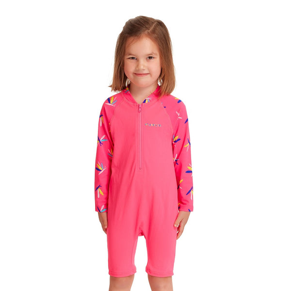 Funkita Girls Toddler Girls Go Jump Suit FKS005G- Fly Dragon