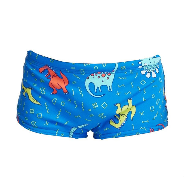 Funky Trunks Toddler Boys Printed Trunks FT32T- Dino Soup