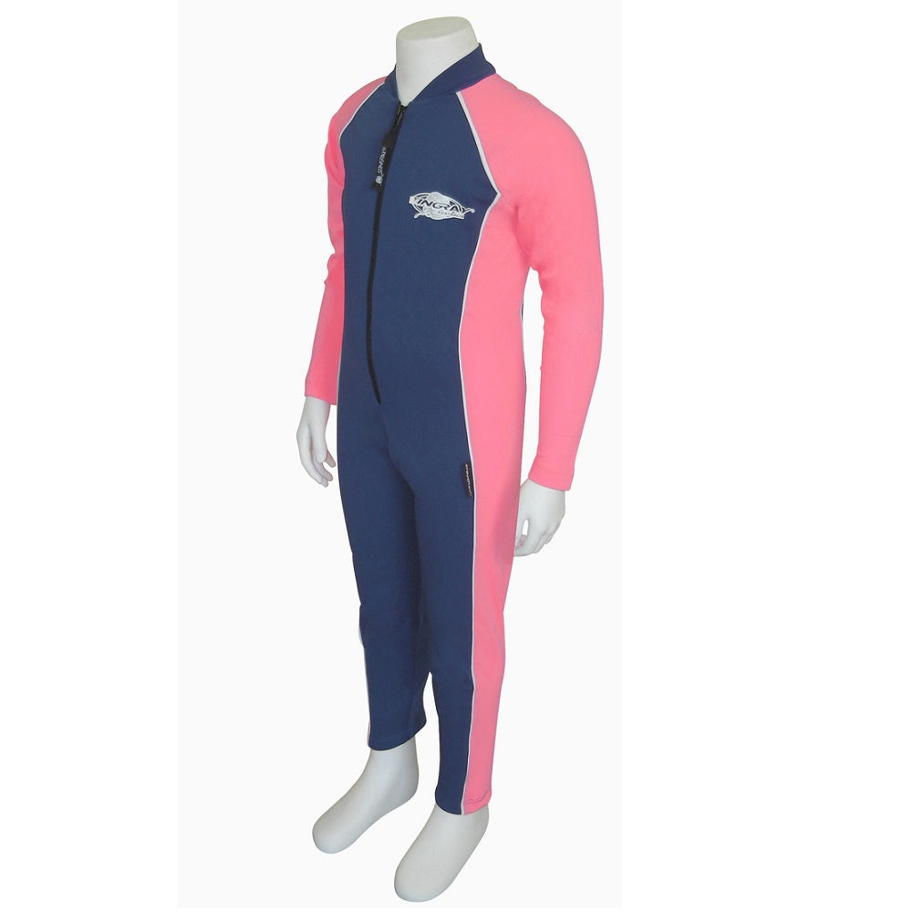 Stingray Raysuit Long Sleeves ST2008- Navy/Pink
