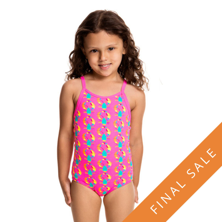 Funkita Toddler's Girl's One Piece FG01T- Cray Cray