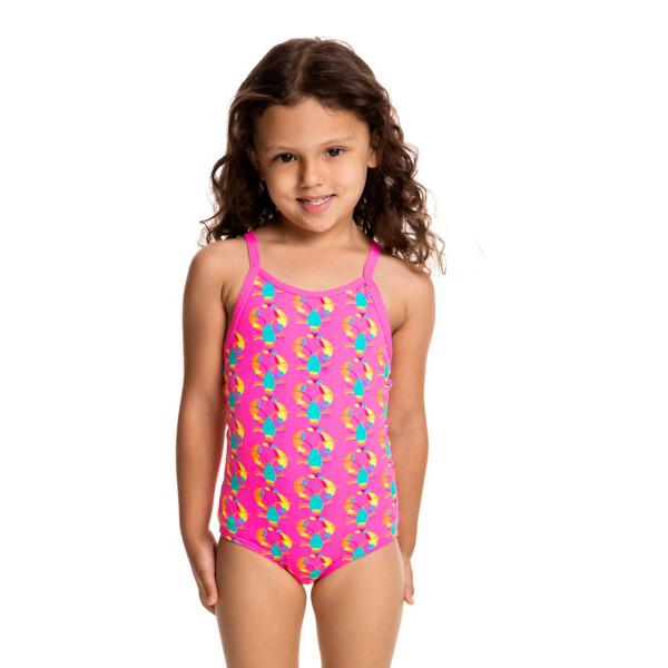 Funkita Toddlers Girls One Piece FG01T- Cray Cray