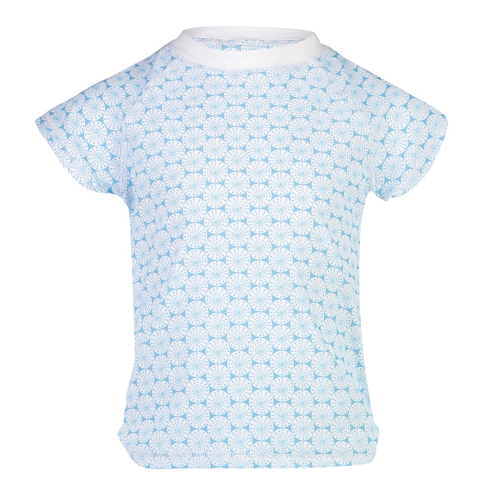 Snapper Rock Rash Top Sustainable Short Sleeves G10112S- Oceania Sustainable