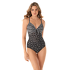 Miraclesuit Pin Up Hidden Underwire One Piece 6522623- Incan Treasure