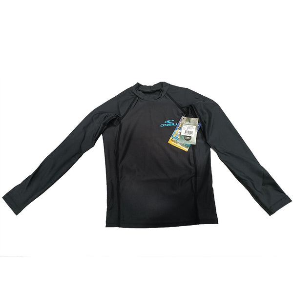 O'Neill Boys Youth Basic Skin Crew Long Sleeve RG3346OA2BLK- Black