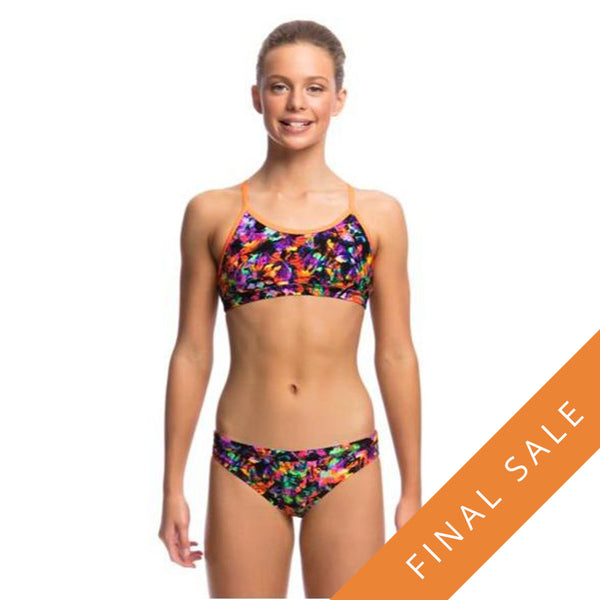 Funkita Girls Racerback Two Piece D-P FS02G- Predator Party