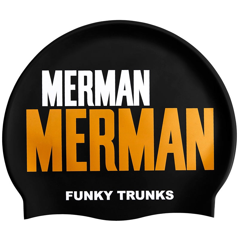 Funky Trunks FT99 Swimming Caps-Golden Merman