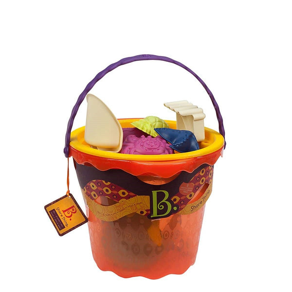 B.Toys BX1445Z Large Bucket Set_ Papaya