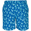 Tom & Teddy FLASB Mens Flamingo Swim Shorts Sky Blue