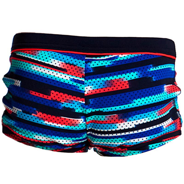 Funky Trunks FT36T Toddler's Square Trunk-Meshed Up