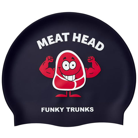 Funky Trunks FT99 Swim Caps-Meathead