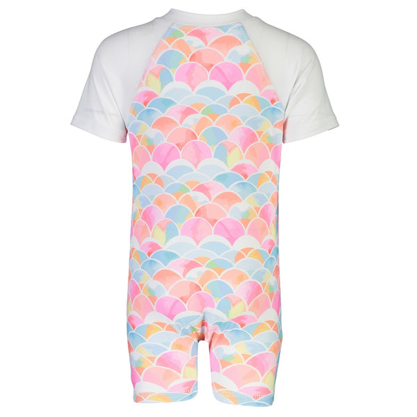 Snapper Rock Sunsuit Short Sleeves G70804S- Rainbow Connection