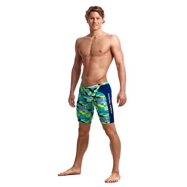Funky Trunks Men's Training Jammer FT37M- Sand Storm