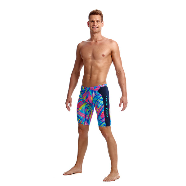 Funky Trunks Men's Training D-P Jamme FT37M- Frickin Laser