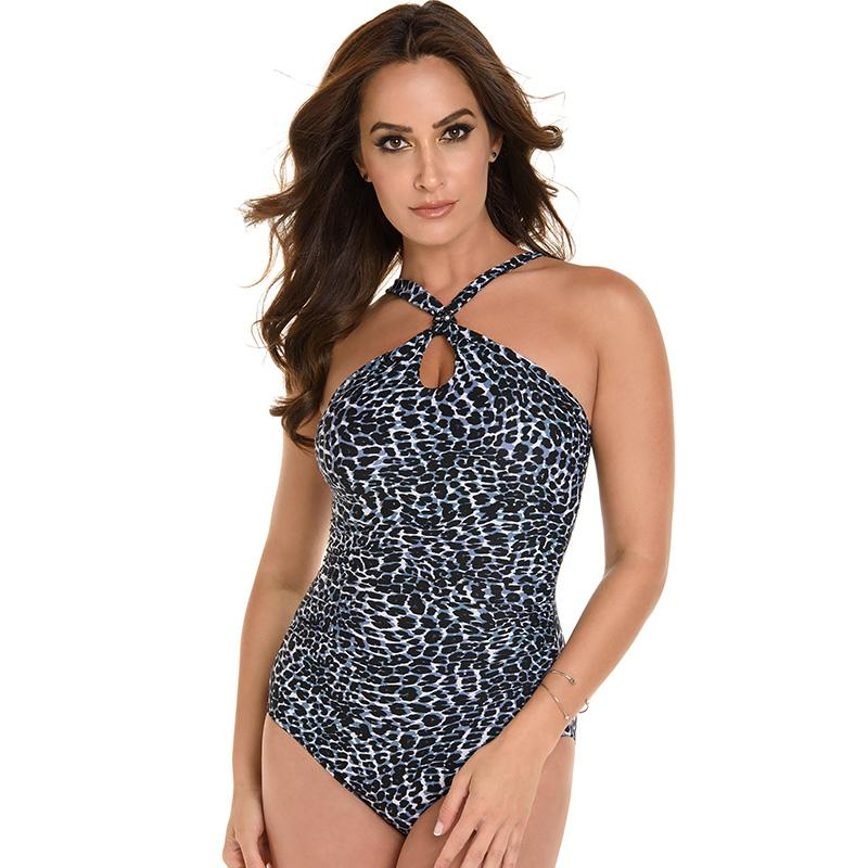 Miraclesuit 6511514 Glitz S/C One Piece-Black