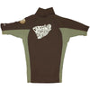 O'Neill RG412321CFC Men Skins Short Sleeves- Chocolate/Fatigue
