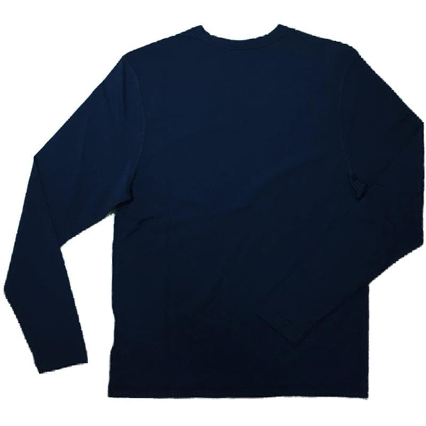 Tom & Teddy SDBLS Mens Rash Tops Long Sleeves Deep Blue