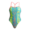 Funkita Women's Twisted One Piece FKS010L- Second Skin