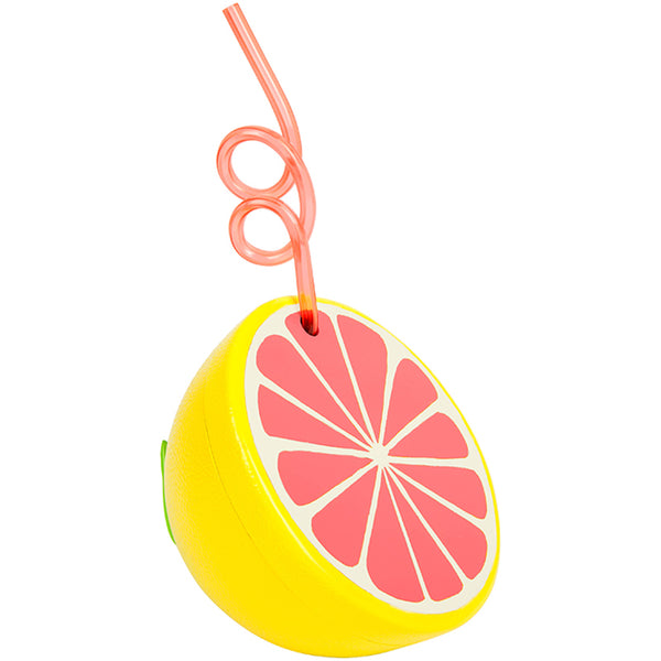 Sunnylife S8ESIPGF Grapefruit Sipper