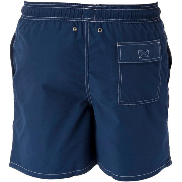 Tom & Teddy SOLEB Mens Solid Swim Shorts- Estate Blue