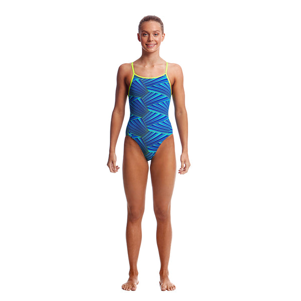 Funkita Girls Diamond Back 1pc FS11G- Streaker
