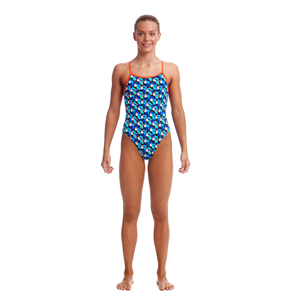 Funkita Girls Single Strap Eco D-P 1pc FKS030G- Touche