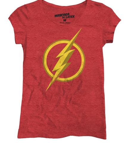 The Flash Logo Mujer