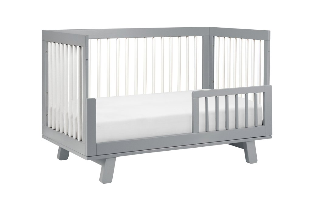 Hudson 3 In 1 Convertible Crib Nestled By Snuggle Bugz