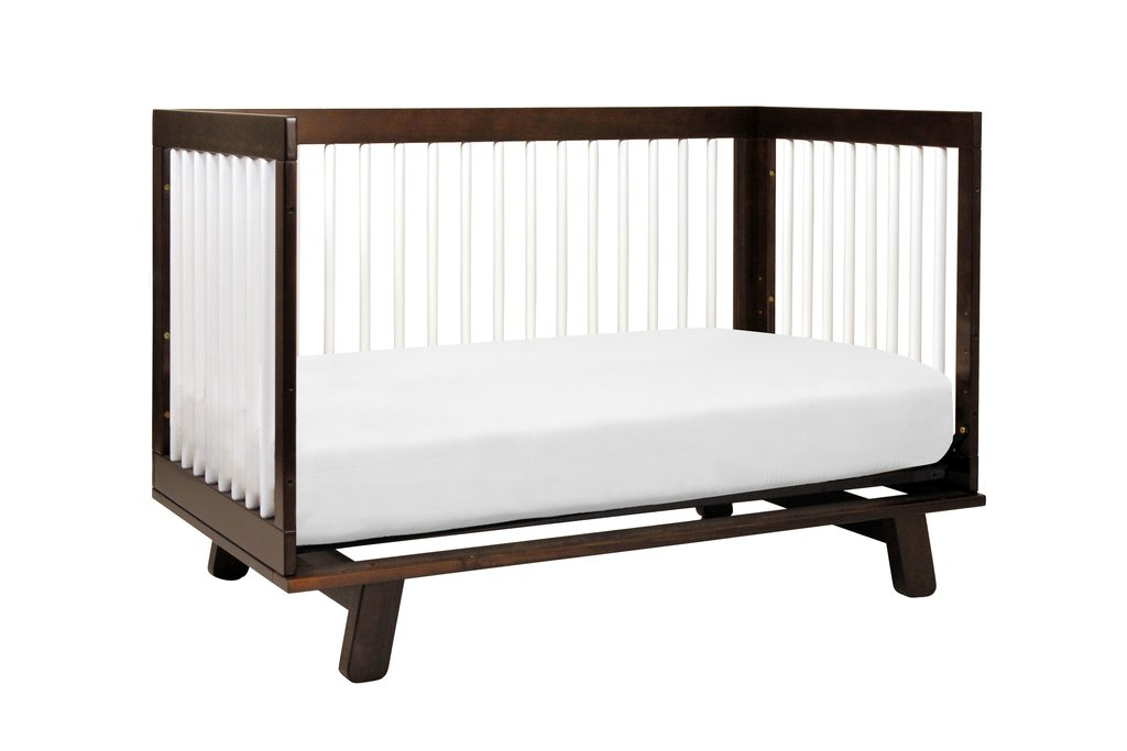 Hudson Collection 3 In 1 Convertible Crib With Toddler Bed