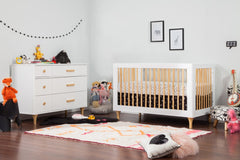 Lolly Collection 3-in-1 Convertible Crib