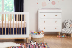 Lolly 3-In-1 Convertible Crib