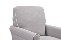Maya Swivel Glider and Ottoman