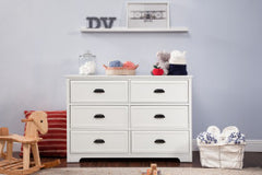 Homestead 6-Drawer Double Dresser