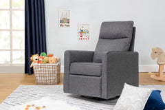 Gabby Pillowback Swivel Glider