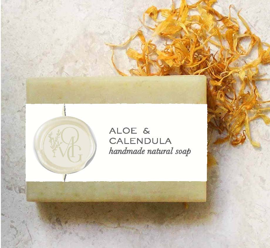 Aloe + Calendula Soap