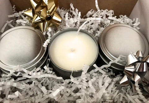 Candle Tin Trio (4 oz.)