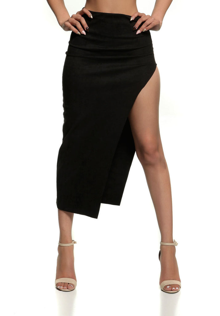 RIRI HIGH SLIT SKIRT