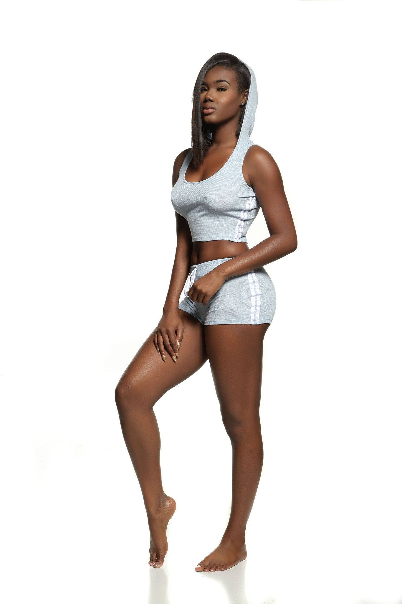 JOLIE HOODED SET