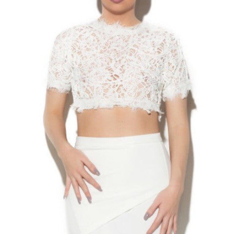 LEAH LACE TOP