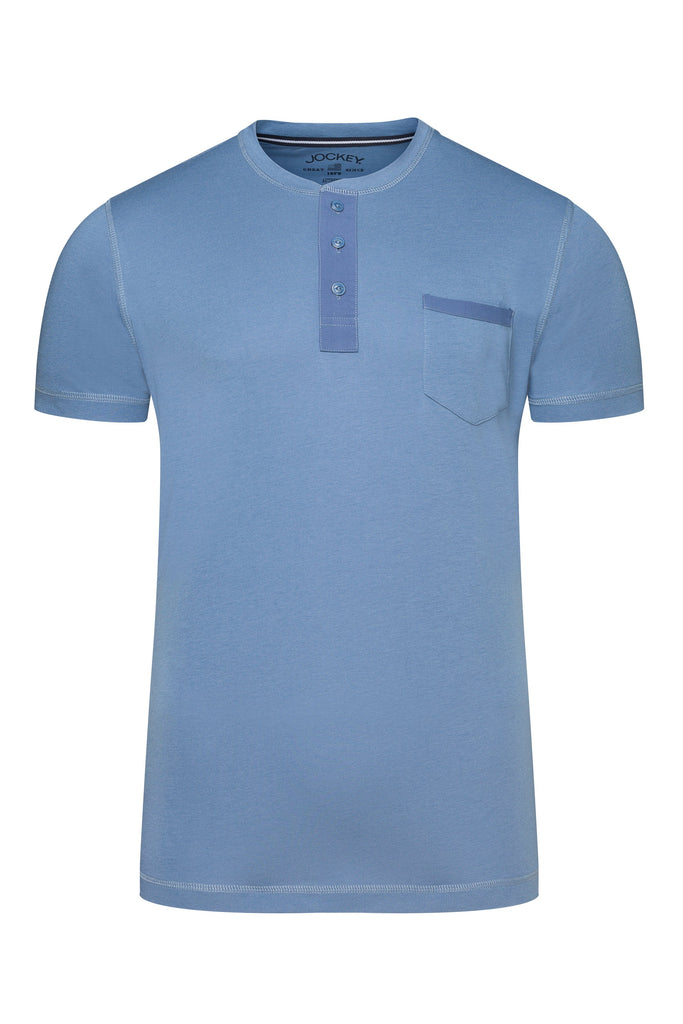 Jockey® Night & Day Short Sleeve Henley Shirt