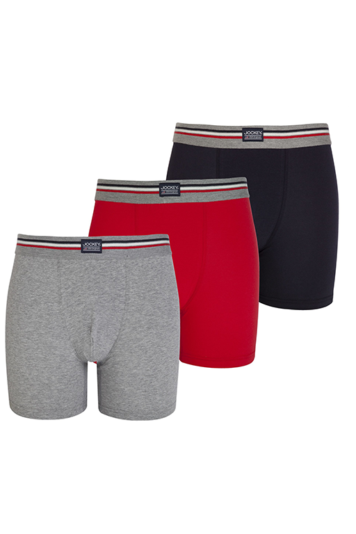Jockey® Cotton Stretch Boxer Trunk 3-Pack