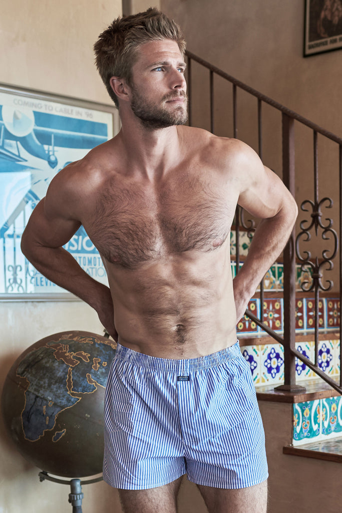 Jockey® Everyday Striped Woven Boxer