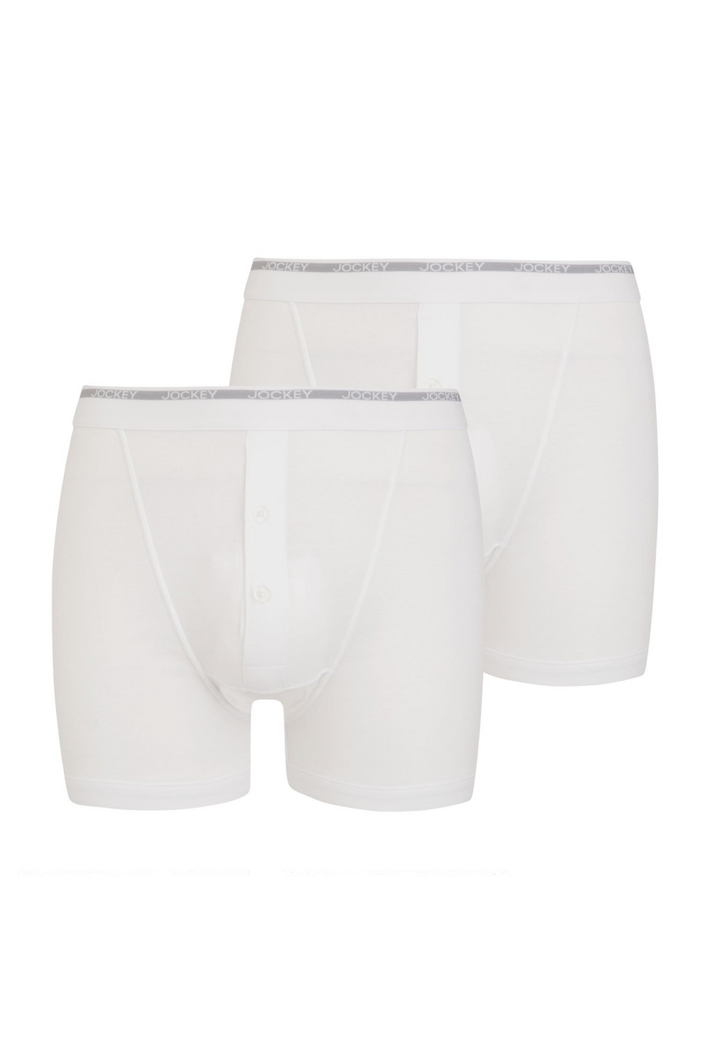 Jockey® Modern Classic Y-Front® Button Fly Boxer Trunk 2-Pack