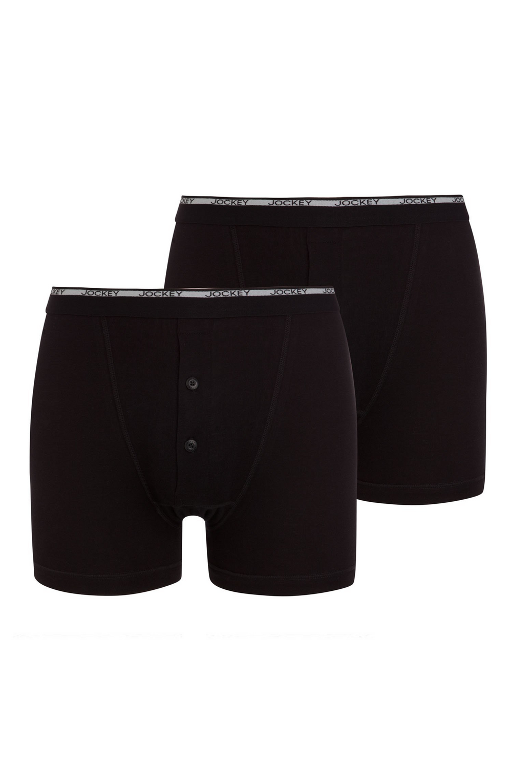 Jockey® Modern Classic Y-Front® Button Fly Boxer Trunk 2Pack