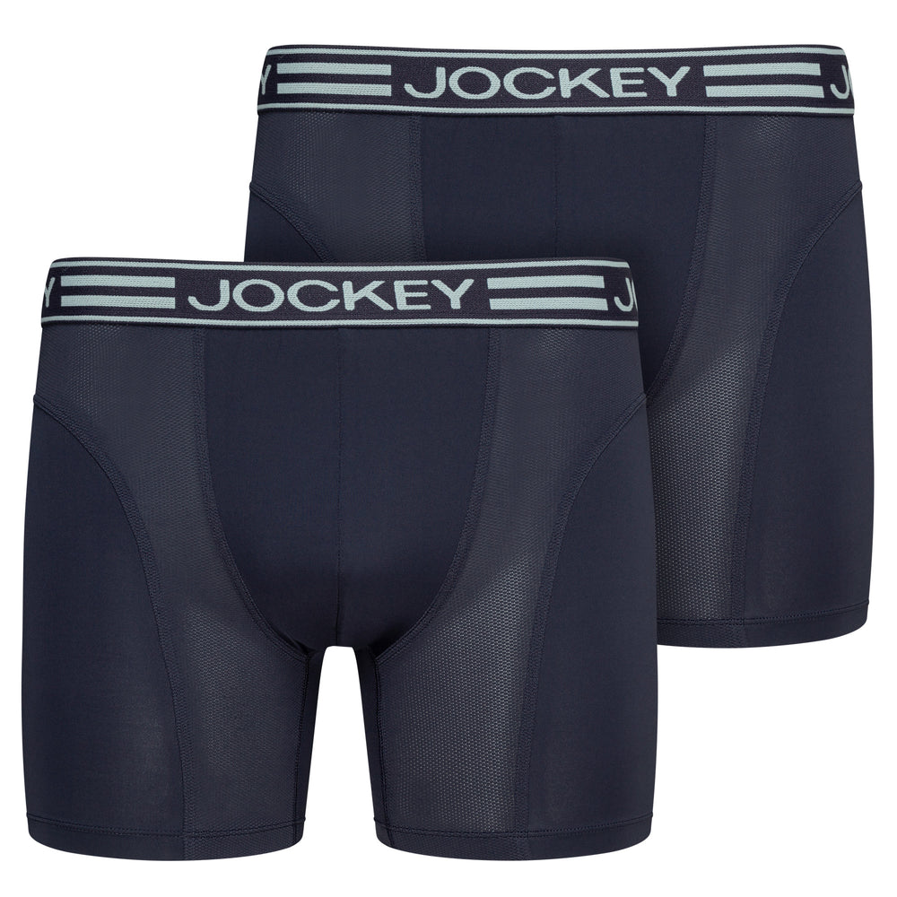 Jockey® Microfiber Active Boxer Trunk 2-Pack
