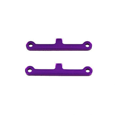 redcat 02017 Front/Rear Suspension Arm Hinge Pin Brace (2pcs) (Purple) - RUI YONG HOBBY